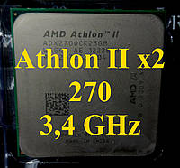 Процессоры (б/у) AMD Athlon II X2 270, 3,4ГГц, Tray  240 245 220 250 255 260