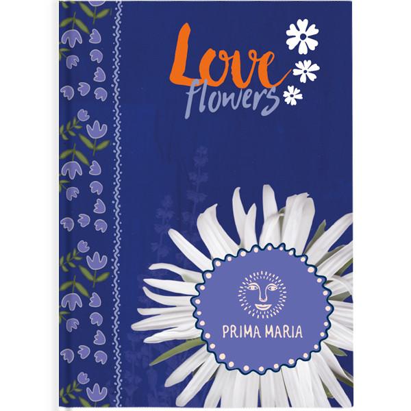 "Щоденник недат Агенда Графо Prima Maria ""Love flowers"""