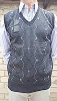 Жилетка мужская серый, XXL