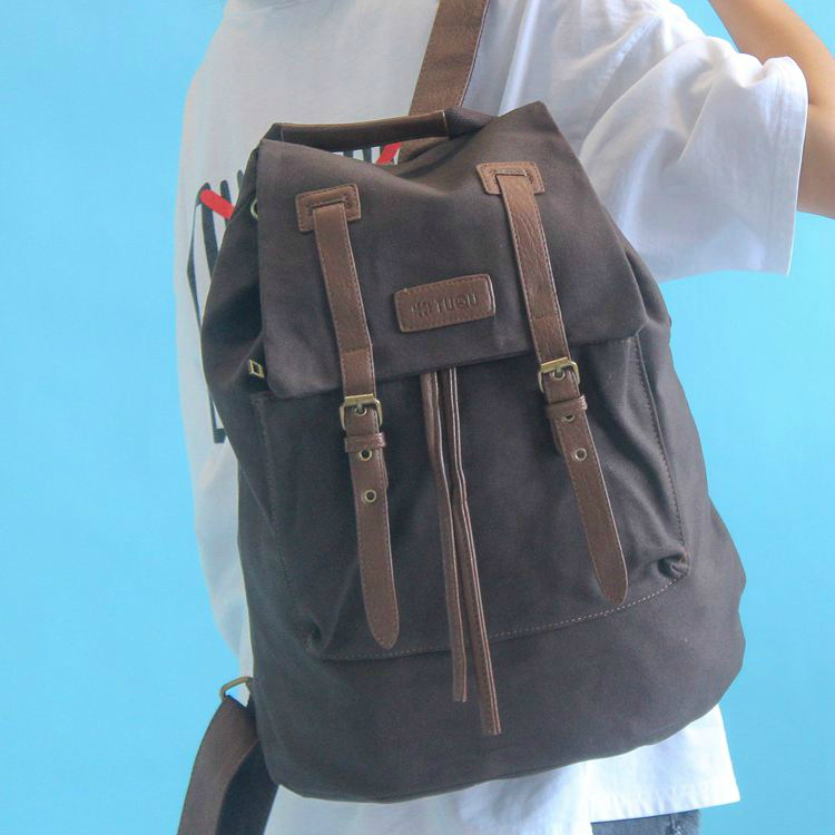 Рюкзак для парня из холста