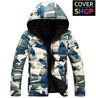 Зимняя куртка Winter Style, камуфляжная, материал - полиэстер с водоотталкивающей пропиткой