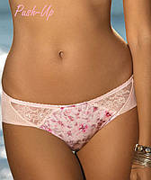 Розовые трусики-стринги Kinga Cherry Blossom S-357/1