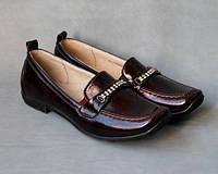 33р, 37р - 38р - Распродажа туфли мокасины бордовые
