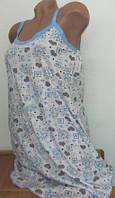 Сорочка женская из хлопка. Размер: 42-46