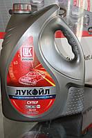 Масло моторное 10w40 Лукойл Супер  (5л) полусинтетика