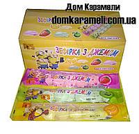 Жевательная конфета Зефир с джемом 30 шт (Китай)