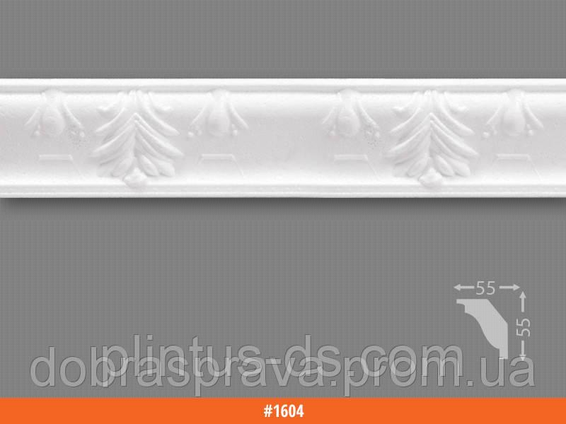 Плинтус потолочный 1300мм (70 штук)