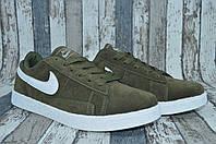 Замшевые мужские кроссовки Nike Blazer Low Найк