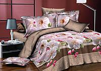 Двуспальный комплект постельного белья евро 200*220 хлопок  (8055) TM KRISPOL Украина