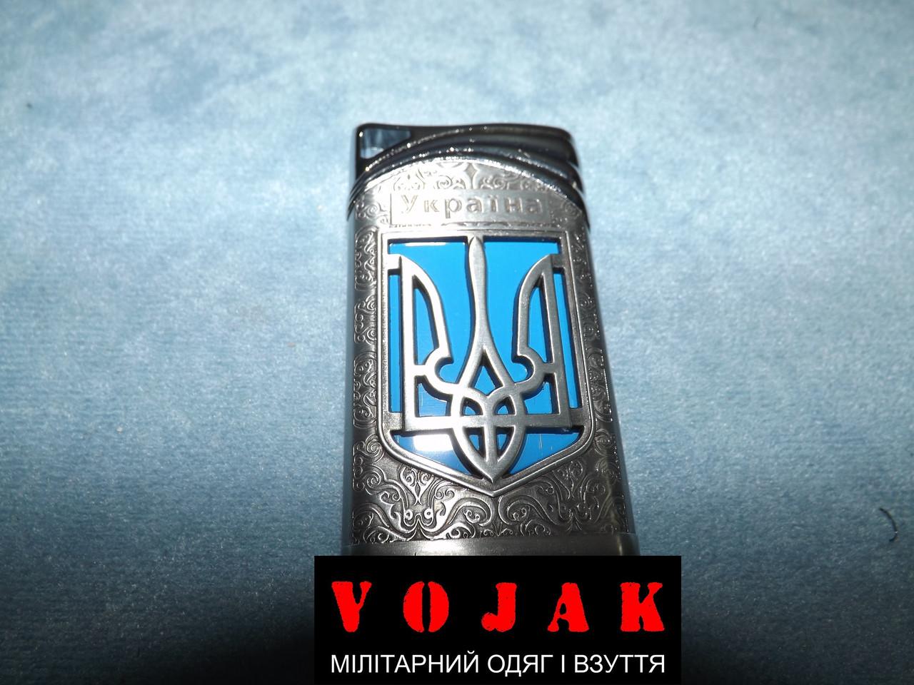 Зажигалка газовая пьезо Ukraine 4543