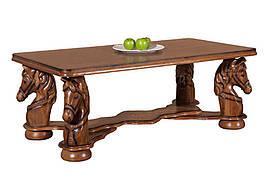"Элегантный столик из дерева ""MUSTANG"" (145х55х74 см)"