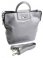 Кожаная сумка рюкзак с двумя ручками