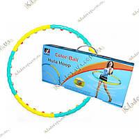 Sunlin Color Ball Хула-Хуп 6 секций с мячиками, фото 1