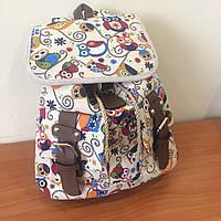 Женский рюкзак с принтом Совы