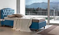 Подростковая кровать односпальная Bluebird с мягким изголовьем односпальная на заказ в Одессе
