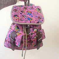 Городской рюкзак с принтом Совушки