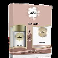 Подарочный набор ASTRA LOVE STORY GIFT SET (DEO+EDT)