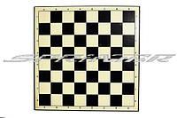Доска картонная для игры в шахматы,шашки. Q220