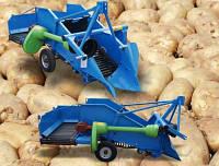 Картоплекопачка однорядна на два транспортери