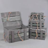 Ящики деревянные набор 4 штуки