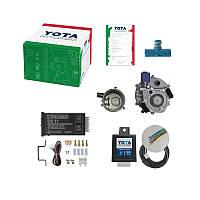 ГБО 2 Инжектор (редуктор, кнопка W, эмулятор, смес. ВАЗ инж. Ø60 мм, дозатор мощности)