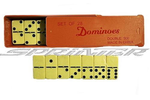 Домино в пластиковой коробке. 5211В