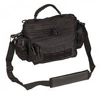 Туристическая сумка 7л MilTec TACTICAL PARACORD BAG SMALL Black 13726102