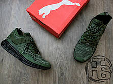 Мужские кроссовки Puma Ignite Evoknit Low Pavement Burnt Olive 189926-05, фото 2