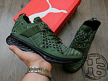 Мужские кроссовки Puma Ignite Evoknit Low Pavement Burnt Olive 189926-05, фото 3