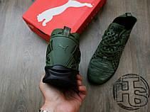 Мужские кроссовки Puma Ignite Evoknit Low Pavement Burnt Olive 189926-05, фото 3
