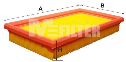 Фильтр воздушный M-Filter K190 (053 AP)