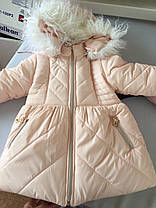 """Зимнее пальто для девочки """"Ника 2 малышка"""", фото 3"""