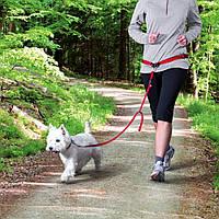 Trixie (Трикси) Waist Belt with Leash поводок с поясом для бега с собаками мелких и средних пород
