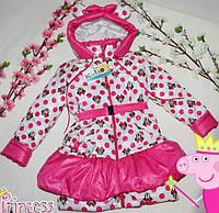 Детская Куртка на девочку Маришка  Мини от 2-5 лет, фото 1