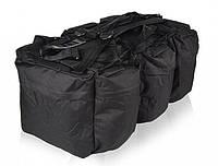 Туристическая сумка-рюкзак 98л MilTec COMBAT DUFFLE BAG TAP Black 13846002, фото 1