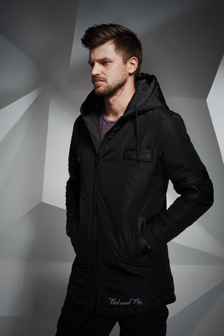 Мужская куртка Eagle Black черная