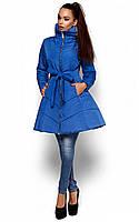 Жіноча приталена синя куртка Siena