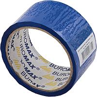 Упаковочная клейкая лента скотч buromax bm.7007-02 синий 48мм x 35м