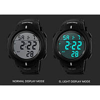 Спортивные часы Skmei 1068 черные