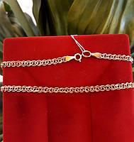 Золотая цепочка Нонна ширина 4 мм, фото 7