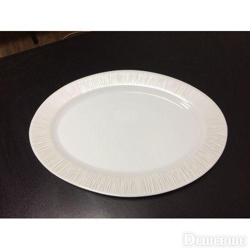 Овальное блюдо White Queen 32 см Astera A0110-16111