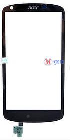 Тачскрин (сенсорный экран) для телефона ACER V360 LIQUID E1 черный