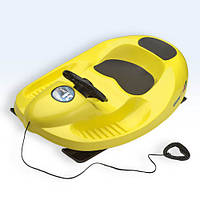 Санки пластиковые KHW SNOW CAR 4X4 yellow