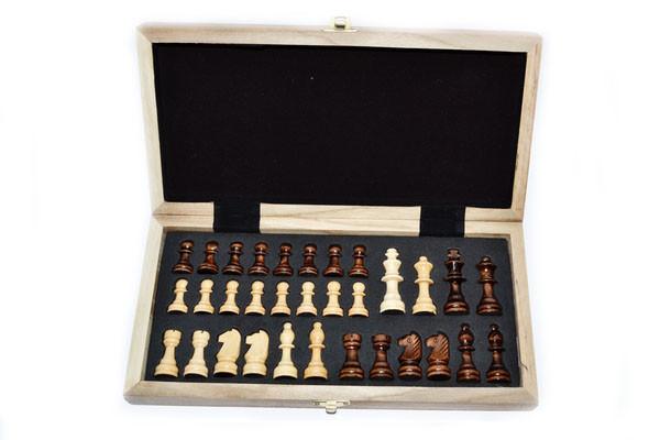Шахматы магнитные, большие. 4020С