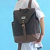 Модный рюкзак из холста, фото 2