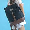 Модный рюкзак из холста, фото 5