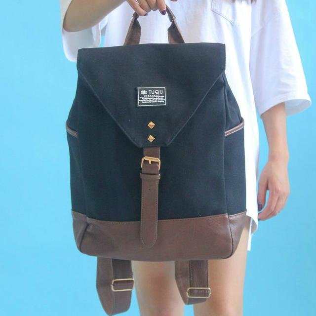 Модный рюкзак из холста