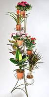 Кованая подставка для цветов Башня 7