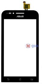 Тачскрин (сенсорный экран) для телефона ASUS ZENFONE GO MINI 451 черный