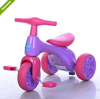 Велосипед трехколесный детский  601S-8 розовый ***